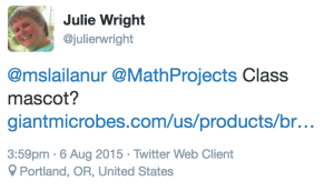 Julie Wright Tweet